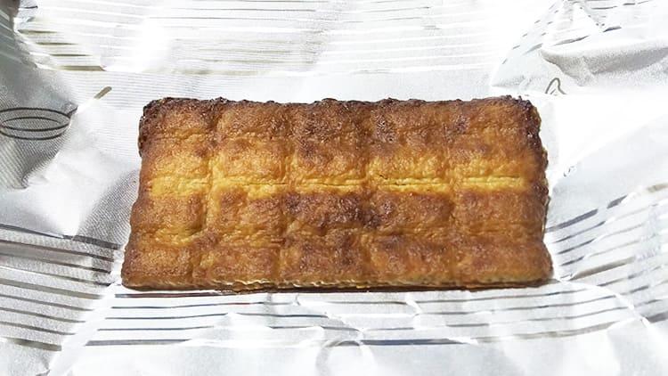 オーブントースターで焼かれたクランキー<あげパン>
