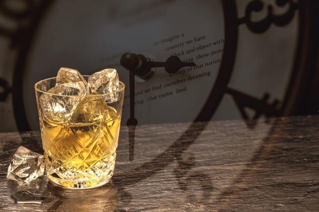 ウイスキーと時計