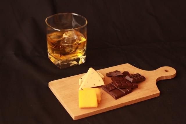 ウイスキーとおつまみ