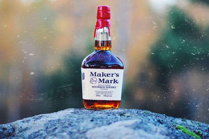 メーカーズマークのボトル