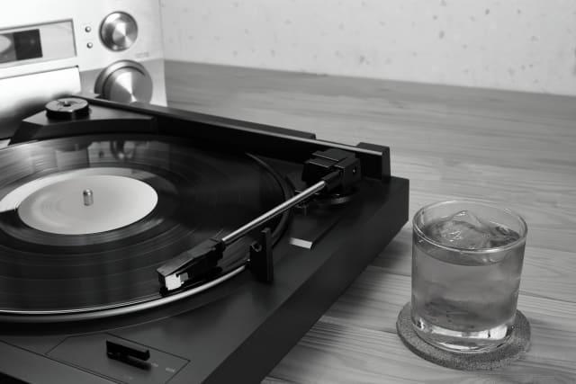 ウィスキーとレコード
