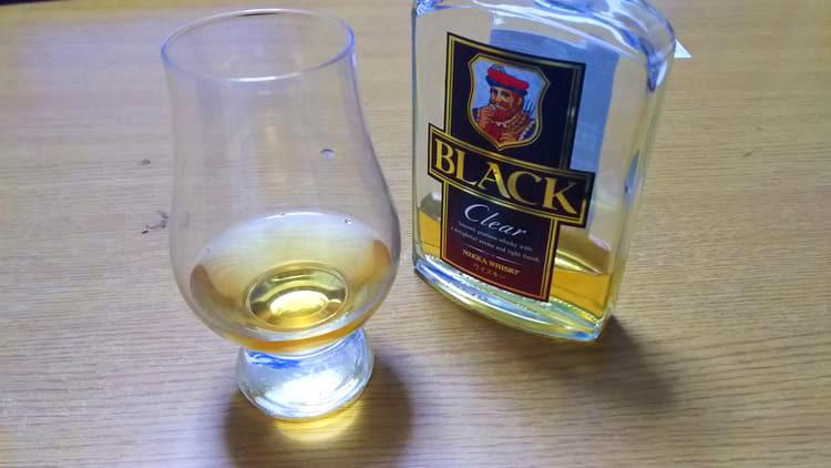 美味しそうなブラックニッカ クリア