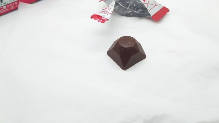 美しい形のチョコレート