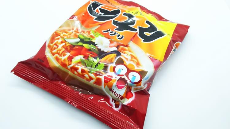 韓国製の袋麺