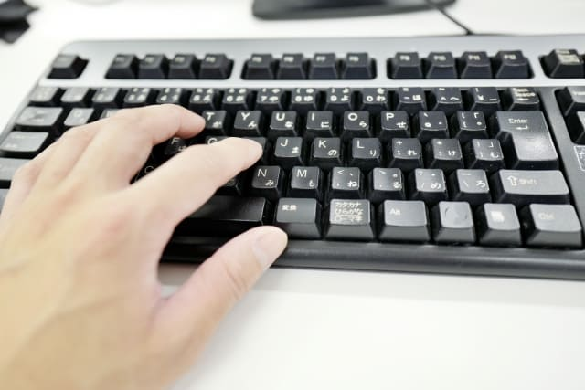 パソコンキーボード
