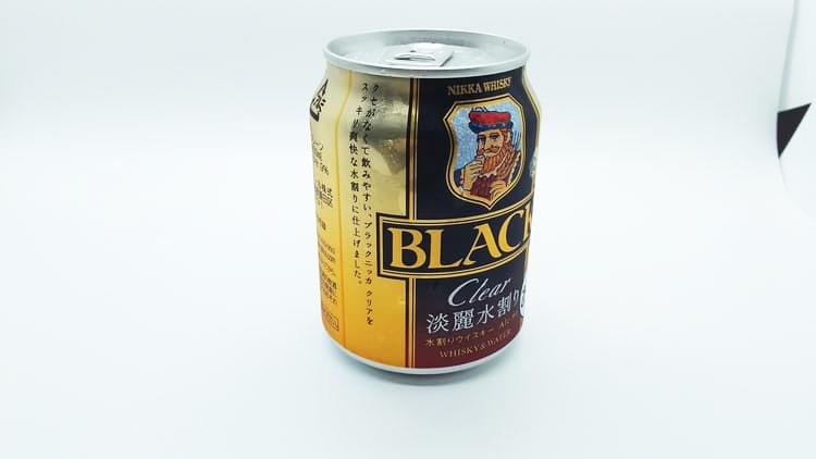 ブラックニッカ缶