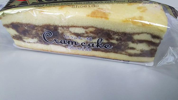クラムケーキの側面