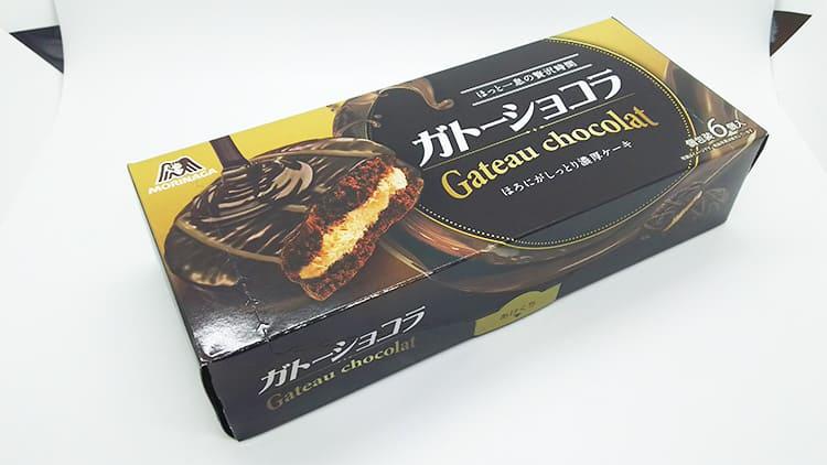 森永 ガトーショコラのパッケージ