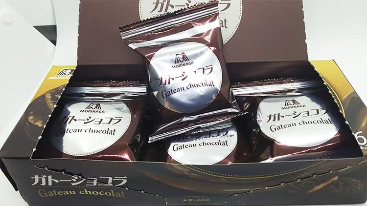 沢山のチョコレート菓子