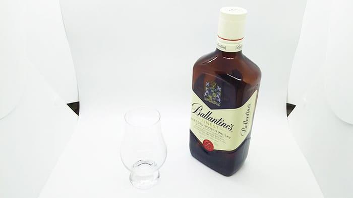バランタインファイネストとグレンケアン