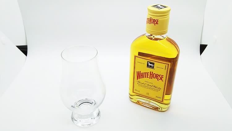 ホワイトホースのミニボトル