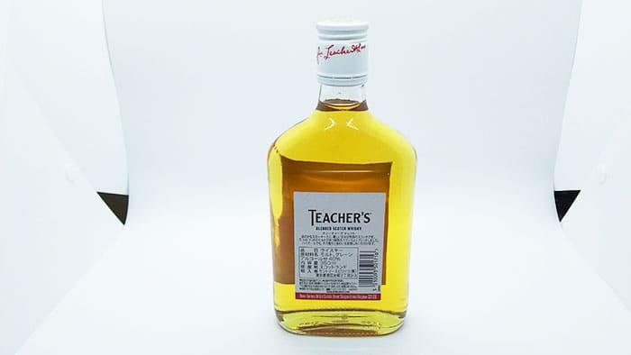 ティーチャーズ セレクトのハーフボトル