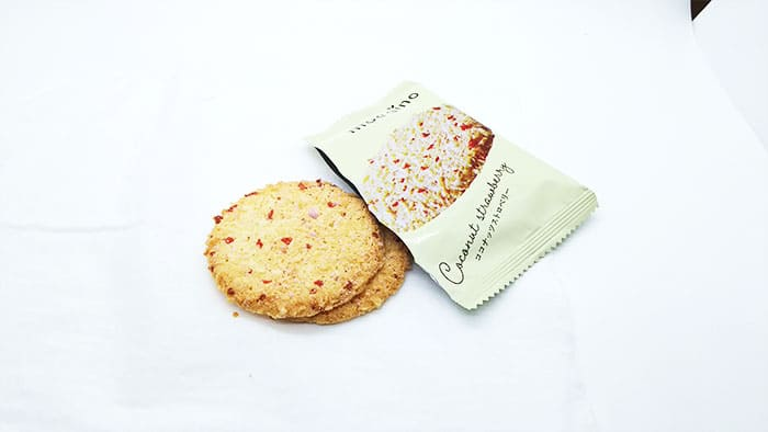 もえぎのクッキー ココナッツストロベリー