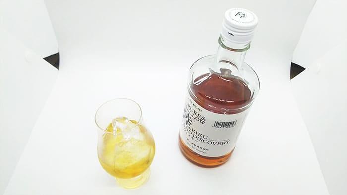 ウイスキーのロック