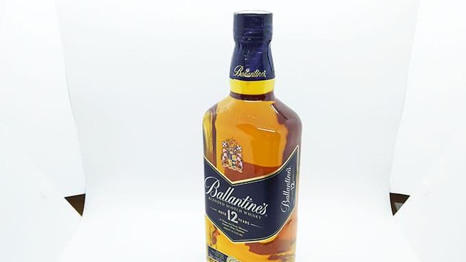 バランタイン12年のフルボトル