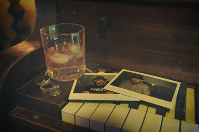 ウイスキーと写真