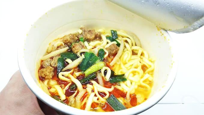 鬼金棒(きかんぼう)とファミマのコラボカップ麺