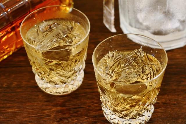 二杯のウイスキー