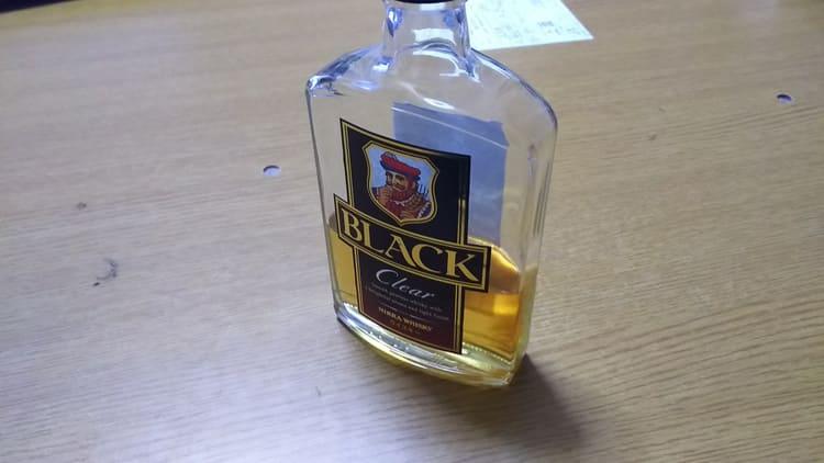 ブラックニッカクリアのミニボトル