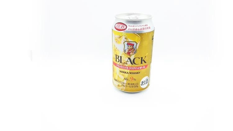 ブラックニッカクリア ハイボールの缶