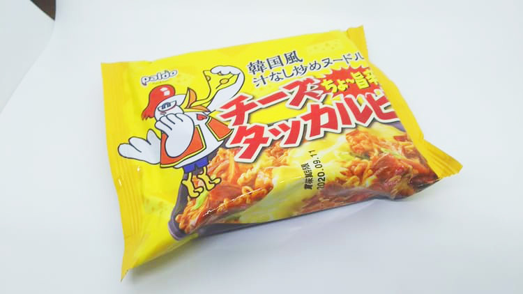 チーズタッカルビ麺
