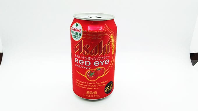 アサヒのレッドアイ缶